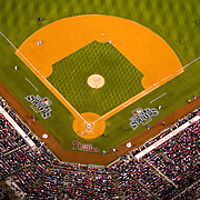 Aerial view of Citizens Bank Park, Game 4 World Series, Philadelphia Phillies,  vs Tampa Bay Rays