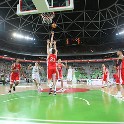 20110808: SLO, Basketball - Adecco Cup, Slovenia vs Croatia