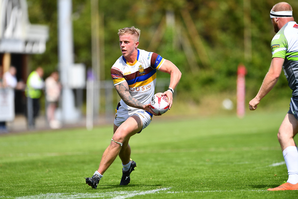 Whitehavens' Callum Phillips in action during todays match<br /> <br /> Photographer Craig Thomas/Replay Images<br /> <br /> Betfred League 1 - West Wales Raiders v Whitehaven  - Saturday 23rd June 2018 - Stebonheath Park - Llanelli<br /> <br /> World Copyright © 2017 Replay Images. All rights reserved. info@replayimages.co.uk - www.replayimages.co.uk