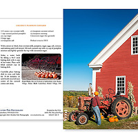 Sabbathday Lake Shaker Village Fall Greeting Card. 5x7 100% Recycled Paper Made in USA