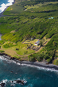 Huialoha Church, 1859, Kaupo, South Maui Coastline, Maui, Hawaii