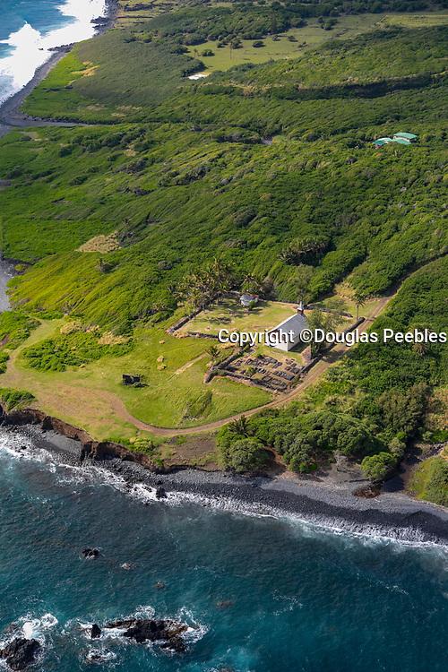 Huialoha Church, 1859, Kaupo, South Maui Coastline, Maui, Hawaii
