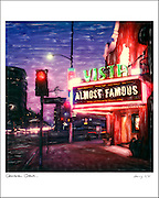 Signed Cameron Crowe Almost Famous Vista Theatre 16x20 print edit 6/8 <br />