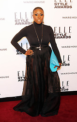 © Licensed to London News Pictures. 18/02/2014, UK. Laura Mvula, ELLE Style Awards, One Embankment, London UK, 18 February 2014. Photo credit : Richard Goldschmidt/Piqtured/LNP