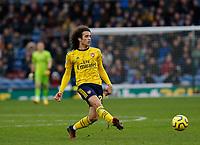 Football - 2019 / 2020 Premier League - Burnley vs. Arsenal<br /> <br /> Mattéo Guendouzi of Arsenal, at Turf Moor.<br /> <br /> <br /> COLORSPORT/ALAN MARTIN