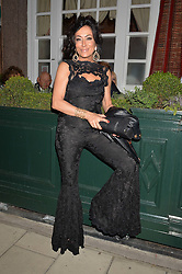 NANCY DELL'OLIO at a party to celebrate 35 years of Harry's Bar, 26 South Audley Street, London on 19th September 2014.