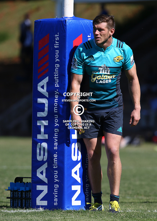 DURBAN, SOUTH AFRICA, 5, May 2016 - Jason Woodward during the Hurricanes training session held at Northwood School Durban North , (Photographer Steve Haag) <br /> <br /> Images for social media must have consent from Steve Haag