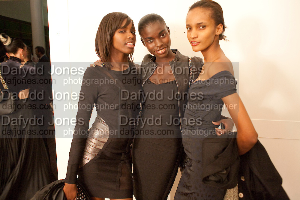 LEOMIE ANDERSON; JENEIL WILLIAMS; ROSE CORDERO, 30 Years Of i-D - book launch. Q Book 5-8 Lower John Street, London . 4 November 2010. -DO NOT ARCHIVE-© Copyright Photograph by Dafydd Jones. 248 Clapham Rd. London SW9 0PZ. Tel 0207 820 0771. www.dafjones.com.