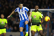 Brighton & Hove Albion winger Anthony Knockaert during the EFL Sky Bet Championship match between Brighton and Hove Albion and Reading at the American Express Community Stadium, Brighton and Hove, England on 25 February 2017. Photo by Bennett Dean.
