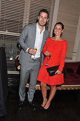 JAMIE & LOUISE REDKNAPP at the Audi Ballet Evening held at the Royal Opera House, Bow Street, Covent Garden, London on 22nd March 2012.