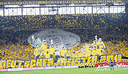 14.05.2011, Signal Iduna Park, Dortmund, GER, 1.FBL, Borussia Dortmund vs Eintracht Frankfurt, im Bild die Gelbe Wand vor dem Spiel //  during the German 1.Liga Football Match,  Borussia Dortmund vs Eintracht Frankfurt, at the Signal Iduna Park, Dortmund, 14/05/2011 . EXPA Pictures © 2011, PhotoCredit: EXPA/ nph/  Conny Kurth       ****** out of GER / SWE / CRO  / BEL ******