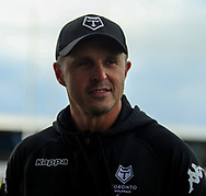 Paul Rowley (Coach) of Toronto Wolfpack during the Betfred Championship match at Craven Park, Barrow-in-Furness<br /> Picture by Stephen Gaunt/Focus Images Ltd +447904 833202<br /> 11/02/2018