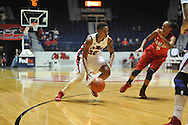 """Ole Miss' Tia Faleru (32) vs. Lamar in women's college basketball at the C.M. """"Tad"""" Smith Coliseum in Oxford, Miss. on Monday, November 19, 2012.  Lamar won 85-71."""