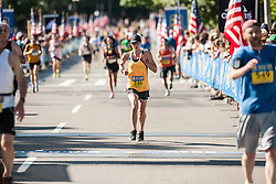 Boston Athletic Association 10K road race: Joyce Miller