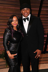 LL Cool J and Simone Johnson  arrives at the 2014 Vanity Fair Oscar Party in West Hollywood, California, USA,  Sunday, 2nd March 2014. Picture by Hollywood Bubbles / i-Images<br /> UK ONLY