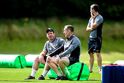 Andy Titterrell and Ian Costello - Mandatory by-line: Robbie Stephenson/JMP - 07/08/2019 - RUGBY - Broadstreet RFC - Coventry, England - Wasps Preseason Training