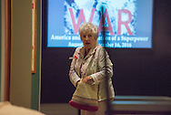 Photos of the opening of the world at war exhibit in the Museum