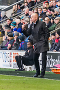 Fleetwood Town Manager Uwe Rosler during the EFL Sky Bet League 1 match between Fleetwood Town and Blackburn Rovers at the Highbury Stadium, Fleetwood, England on 20 January 2018. Photo by Michal Karpiczenko.