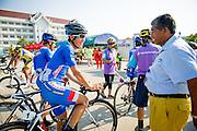 Tour of Thailand 2015/ Stage4/ Mukdahan - Nakhon<br /> Phanom/ Nakajima Yasuharu/ Aisan Racing