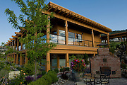 Quail's Gate estate vineyard, Okanagan, British Columbia, Canada