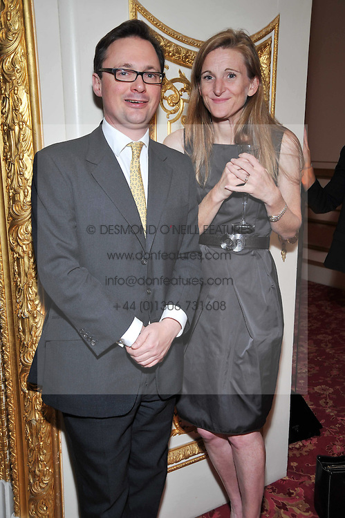 VISCOUNT DUNLUCE and Rachel Whetstone at a party to celebrate 300 years of Tatler magazine held at Lancaster House, London on 14th October 2009.