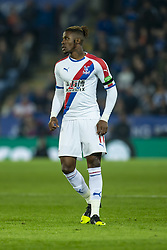 February 23, 2019 - Leicester, England, United Kingdom - Wilfried Zaha of Crystal Palace  during the Premier League match between Leicester City and Crystal Palace at the King Power Stadium, Leicester on Saturday 23rd February 2019. (Credit Image: © Mi News/NurPhoto via ZUMA Press)