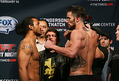 February 13, 2015: UFC Fight Night Broomfield Weigh-In
