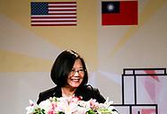 Taiwanese President Tsai Ing-wen visits Los Angeles