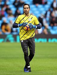 Claudio Bravo of Manchester City warms up - Mandatory by-line: Matt McNulty/JMP - 05/02/2017 - FOOTBALL - Etihad Stadium - Manchester, England - Manchester City v Swansea City - Premier League