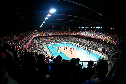 20150121 BEL: Precura Antwerp - PGE Skra Belchatow, Antwerpen<br />Een volle Lotto Arena, Antwerpen, 5000 toeschouwers<br />©2014-FotoHoogendoorn.nl / Pim Waslander