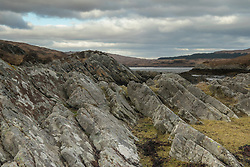 Looking toward Cruach Sganadail from the Narrows on Loch Tarbert
