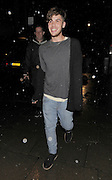 03.JULY.2012. LONDON<br /> <br /> AIDEN GRIMSHAW LEAVING LE BARON NIGHTCLUB IN MAYFAIR LOOKING A LITTLE WORSE FOR WEAR.<br /> <br /> BYLINE: EDBIMAGEARCHIVE.CO.UK<br /> <br /> *THIS IMAGE IS STRICTLY FOR UK NEWSPAPERS AND MAGAZINES ONLY*<br /> *FOR WORLD WIDE SALES AND WEB USE PLEASE CONTACT EDBIMAGEARCHIVE - 0208 954 5968*