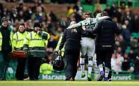 06/03/16 WILLIAM HILL SCOTTISH CUP QUARTER-FINAL<br /> CELTIC v MORTON<br /> CELTIC PARK - GLASGOW<br /> Celtic's Stefan Johansen (25) goes off injured