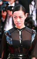 Yi Zhou at the Two Days, One Night (Deux Jours, Une Nuit) gala screening red carpet at the 67th Cannes Film Festival France. Tuesday 20th May 2014 in Cannes Film Festival, France.