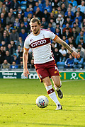 Jake Reeves (4) of Bradford City during the EFL Sky Bet League 1 match between Portsmouth and Bradford City at Fratton Park, Portsmouth, England on 28 October 2017. Photo by Graham Hunt.