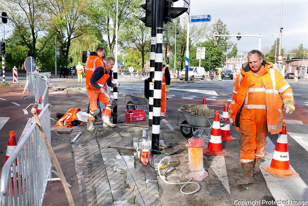 October 29, 2017- 13:07<br /> The Netherlands, Amsterdam - Haarlemmerweg
