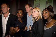TONY LYNCH; MICHELLE GAYLE; ALASTAIR CAMPBELL;  FIONA MILLAR; BRENDA EMMANUS.   June Sarpong  celebrates launch of her new political website, PoliticsAndTheCity.com. Institute Of Contemporary Arts (ICA), The Mall, London, SW1 8 July 2008 *** Local Caption *** -DO NOT ARCHIVE-© Copyright Photograph by Dafydd Jones. 248 Clapham Rd. London SW9 0PZ. Tel 0207 820 0771. www.dafjones.com.