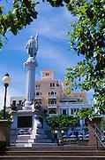 Old San Juan, Puerto Rico: Christopher Columbus monument in Plaza Colón.
