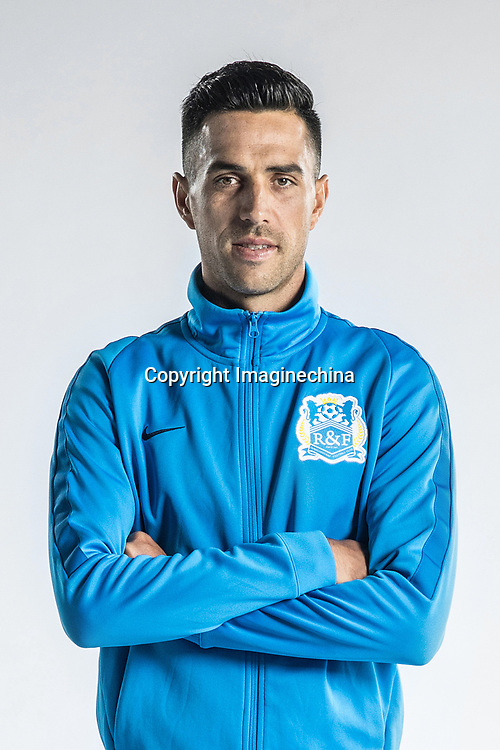 **EXCLUSIVE**Portrait of Israeli soccer player Eran Zahavi of Guangzhou R&F F.C. for the 2018 Chinese Football Association Super League, in Guangzhou city, south China's Guangdong province, 23 February 2018.
