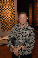 Barbara Debs<br /> The New-York Histoircal Society.Opening of:Woven Splendor from Timbuktu to Tibet: Exotic Rugs and Textiles from New York Collectors