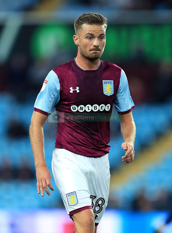Aston Villa's Jordan Lyden