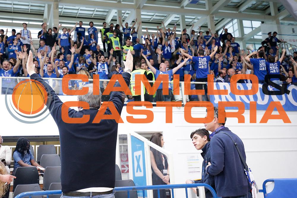 Bonetti Matteo<br /> Dolomiti Energia Aquila Basket Trento - Germani Basket Brescia Leonessa<br /> Lega Basket Serie A 2016/2017<br /> PalaTrento, 23/04/2017<br /> Foto Ciamillo-Castoria / M. Brondi