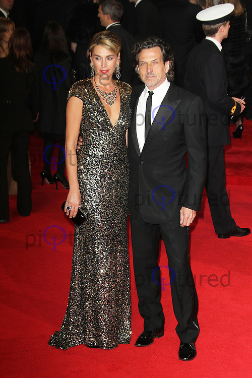 LONDON - OCTOBER 23: Anastasia Webster; Stephen Webster attended the Royal World Film Premiere of 'Skyfall' at the Royal Albert Hall, London, UK. October 23, 2012. (Photo by Richard Goldschmidt)