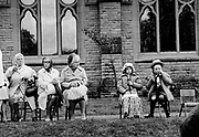 Garden party, Brooklands, Manchester 1976<br />