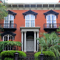 Mercer-Williams House Museum in Savannah, Georgia<br /> This mansion was commissioned in 1860 by Hugh W. Mercer. He was a Confederate general in the American Civil War. His military career was inspired by his grandfather who was a general during the American Revolution. The home was restored in the early 1970s by James Arthur Williams. He achieved notoriety over the shooting death of his assistant in this house in 1981. After four trials, Williams was acquitted. The estate is now the Mercer-Williams House Museum. Inside you can tour a collection of antique furniture and art.