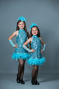 Lana's Dance School students pose for their portraits during Photo Day 2017 at Lana's Dance School in Morgan Hill, California, on June 4, 2017. (Stan Olszewski/SOSKIphoto)