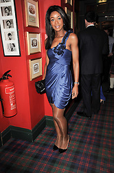 PHOEBE VELA at the Johnnie Walker Blue Label great Scot Award 2010 in association with The Spectator and Boisdale held at Boisdale of Belgravia, 22 Ecclestone Street, London SW1 on 24th February 2010.