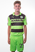 Forest Green Rovers Olly Mehew(29) during the Forest Green Rovers Photocall at the New Lawn, Forest Green, United Kingdom on 31 July 2017. Photo by Shane Healey.