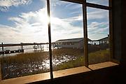Bowen's Island restaurant along the Folly River, Charleston, SC.