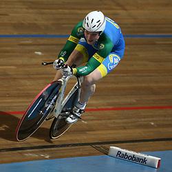 Willy Kanis werd Nederlands kampioen op de baan 500 meter